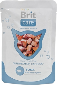 24 x 80 gr -  Brit Care Cat Tuna Pouch