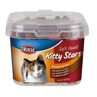 Trixie Soft Snack Kitty Stars 140 gr med laks og lam