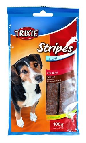 Trixie stripes light m oksekød 100 g light