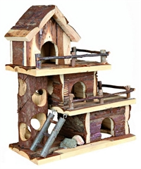 Natural Living Tammo hus - Mus Hamster - 25 x 30 x 12 cm